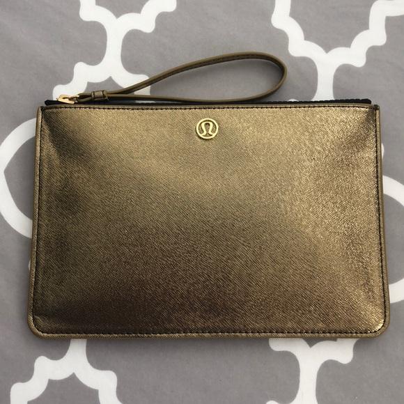lululemon athletica Handbags - Lululemon Gold Goody Bag